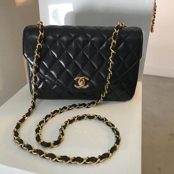 42de76ea0909 CHANEL Bags | Sold Auth Black Lambskin Ghw Single Flap | Poshmark